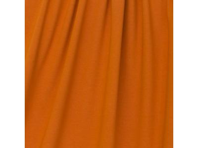 Úplet Teplákovina z BIO bavlny - pomeranč & skořice