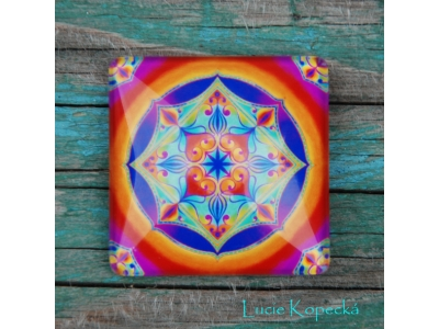 Magnet - Mandala Duchovní srdce