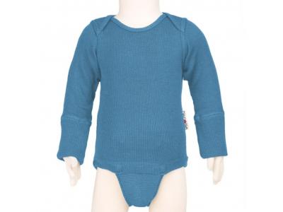 ManyMonths body/tričko merino - Provance Blue