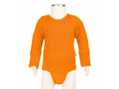 ManyMonths body/tričko merino - Festive Orange