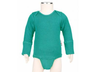 ManyMonths body/tričko merino - Royal Turquoise
