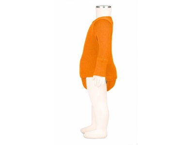 ManyMonths body/tričko merino - Festive Orange
