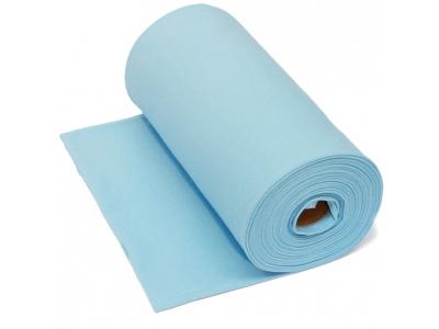 Náplet z bavlny, tunel - baby modrá