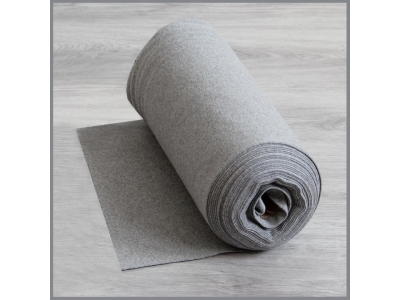 Náplet z bavlny, tunel - šedá, melír