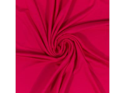 Bavlněný úplet - fuchsiová růžová