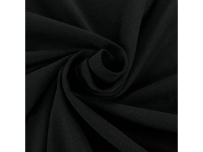 Bavlněný úplet - černá