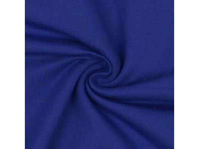 Bavlněný úplet - královská modř