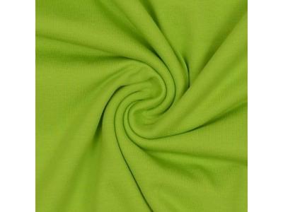 Bavlněný úplet - zelené jablko