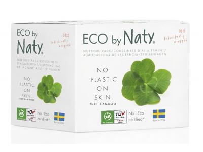 Naty Nature Babycare Jednorázové prsní vložky pro kojící ženy (30 ks)