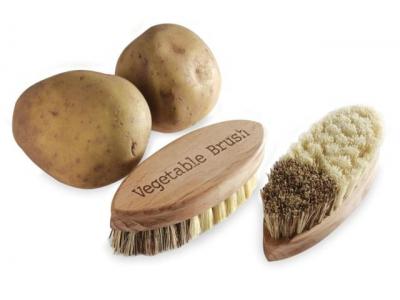 Nether Dřevěný kartáč na zeleninu