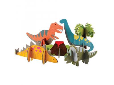 Petitcollage 3D puzzle - Dinosauři