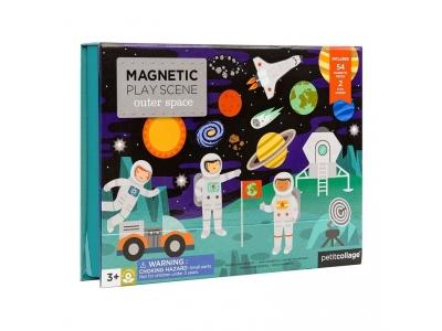 Petitcollage Magnetická tabulka vesmír