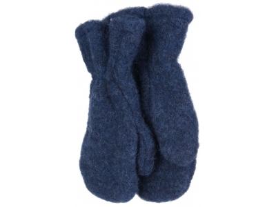 IoBio Rukavice palčáky z vlněného flísu - modré
