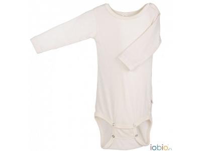 Iobio kojenecké body vlna / hedvábí - dlouhý rukáv