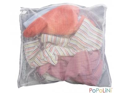Popolini Síťka na praní jemného prádla, 40 x 40 cm