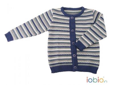 IoBio Dětský svetr z MERINO vlny - Miky
