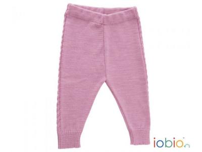 IoBio Pletené kalhoty z MERINO vlny - Mika