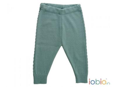 IoBio Pletené kalhoty z MERINO vlny - Miky