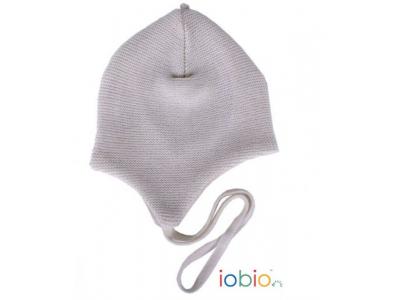 Iobio Pletená vlněná čepice vel.1