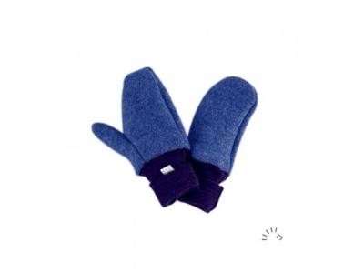IoBio Rukavice palčáky z MERINO vlny - indigo