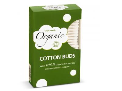 Simply Gentle Organic Vatové tyčinky (200 ks)
