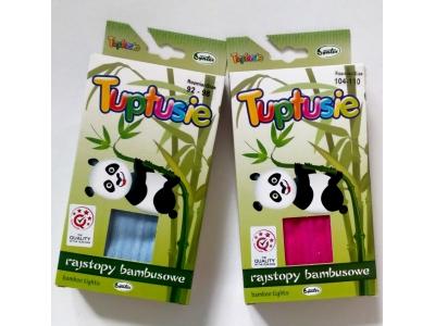 Tuptusie bambusové dětské punčocháče 80/86