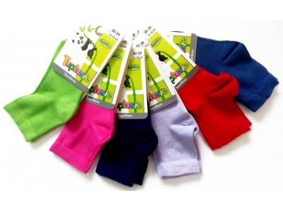 Tuptusie bambusové dětské ponožky 17-19 (10-12cm)