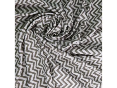 T-Tomi Bambusová osuška 80x100cm, 1ks - šedé stříšky