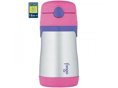 Thermos Foogo - kojenecká termoska 290 ml - růžová