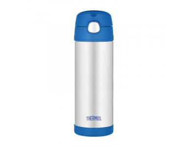 Thermos FUNtainer - dětská termoska 470 ml - modrá