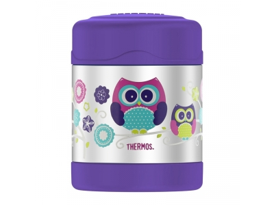 Thermos Termoska na jídlo 290 ml - sova