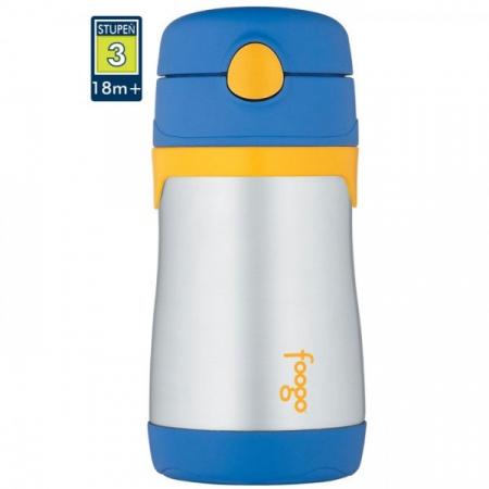 Thermos Foogo - dojčenská termoska 290 ml - modrá - 94422fdf349
