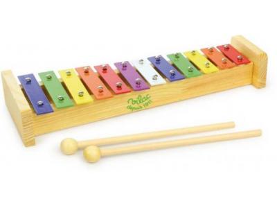 Vilac Kovový xylofon, 12 tónů