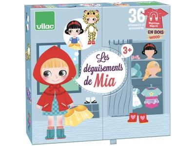 Vilac Magnetické oblékací puzzle Mia