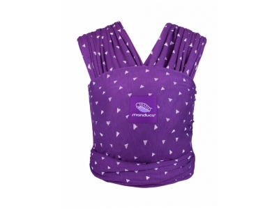 Manduca Belly Button sling Purple Darts